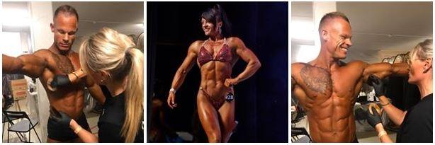 Produkter til konkurrencer - dans, bodybuilding & fitness m.m.