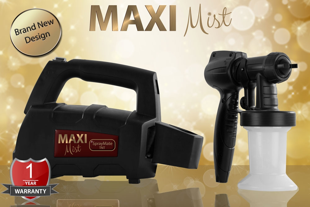 Reservedele til MaxiMist Spraymate TNT & Spraymate Pro.