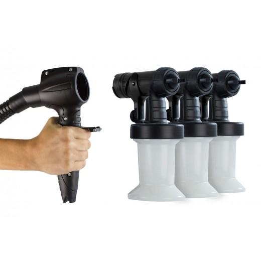 3 ekstra spray hoveder