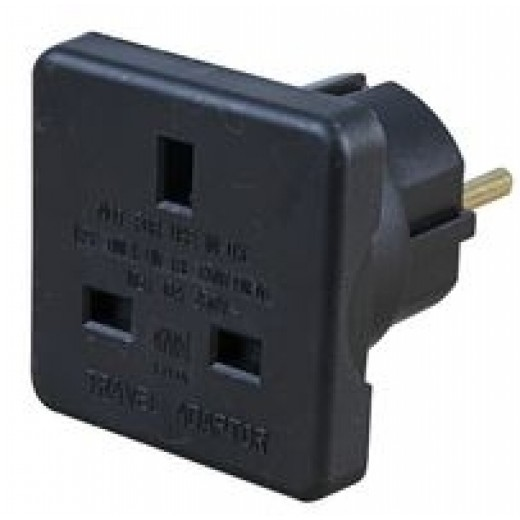 Adapter UK-> Euro el stik-31