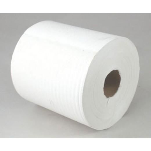 Håndklæderulle 6 x 300 meter hvid-30