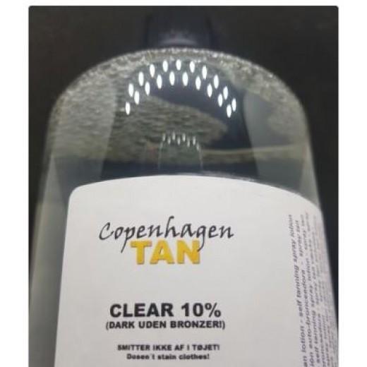 CopenhagenTAN CLEAR 10% 1 liter-01