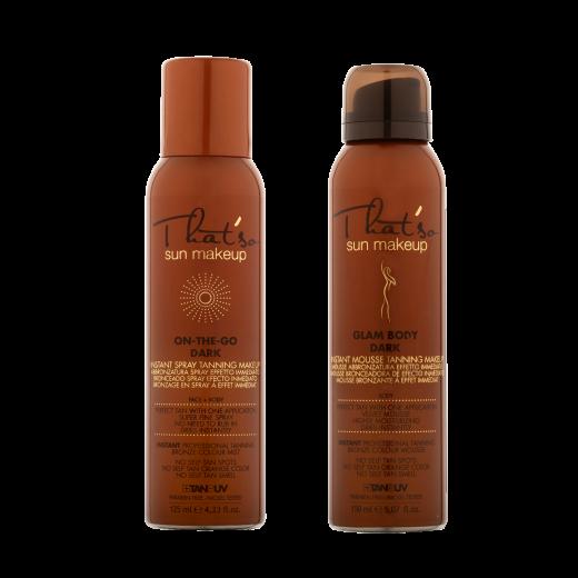 Tanning sæt fra That´so - spray & mousse