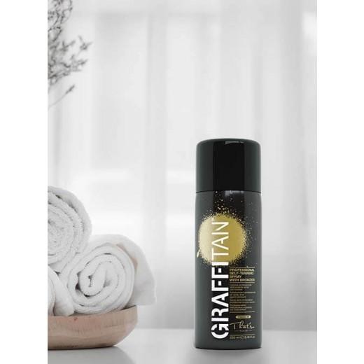 GRAFFITAN Proff. spray tanning m bronzer, 8% DHA 250 ml-01