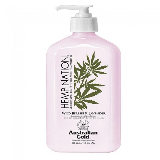 Hemp Nation Wild Berries and Lavender Body lotion 535 ml-32