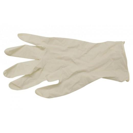 Handsker i latex u/puder str. M 100 stk.-03