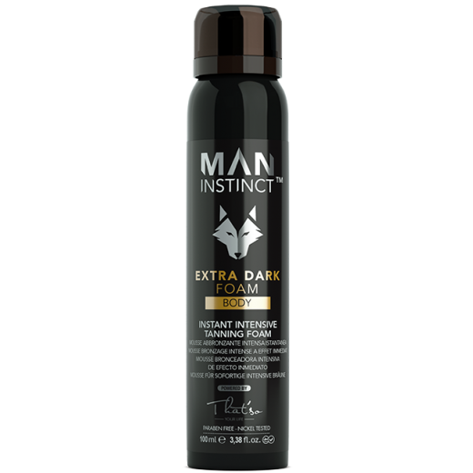 MAN INSTINCT Extra dark foam 8% 100 ml-31