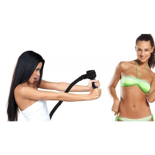 Spray gun med tørre funktion