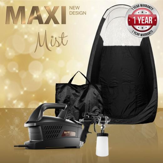 MaxiMist Evolution med Pro spray gun og telt