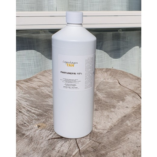 Spray tan væske uden parfume - 10% DHA