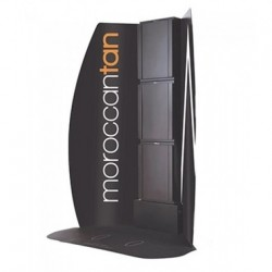 MoroccanTan® Tower Dobbel Fan-20