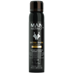 MAN INSTINCT Extra dark foam 8% 100 ml-20