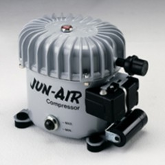 Lydløs kompressor til Autospray