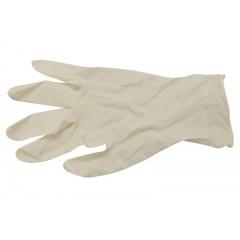 Handsker i latex u/puder str. M - 100 stk.