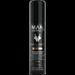 MAN INSTINCT Extra dark face spray 8% - 100 ml