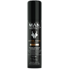 MAN INSTINCT Extra dark face spray 8% - 100 ml