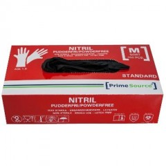 Handsker - nitril sorte - 150 stk.