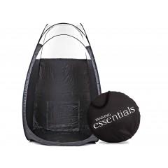 Spray tan telt / kabine - sort m ovenlys