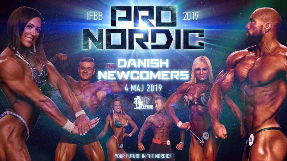 IFBB Pro Nordic Newcomers 2019