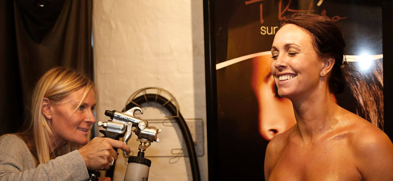 Spray tan behandlinger.