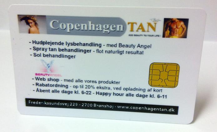 solkort til CopenhagenTAN