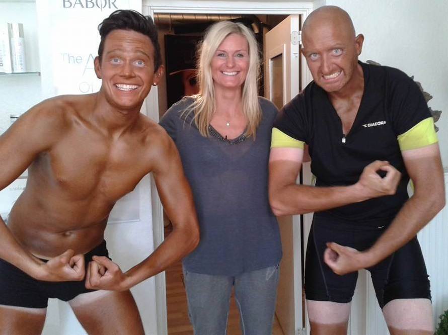 Polterabend spray tan